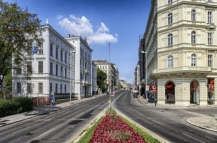 وسط مدينة فيينا