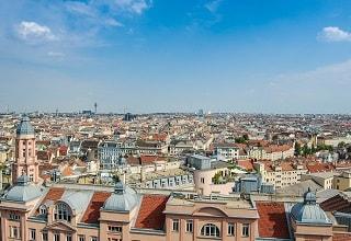 بانوراما لمدينة فيينا