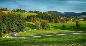 طريق السيارات فى منطقة مهلفرتل فى النمسا العليا