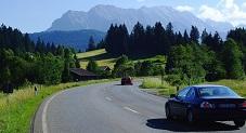 طريق السيارات فى بافاريا العليا